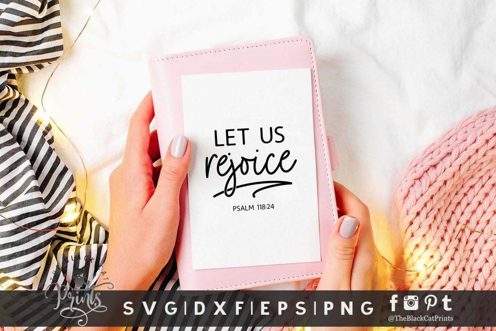Let Us Rejoice SVG