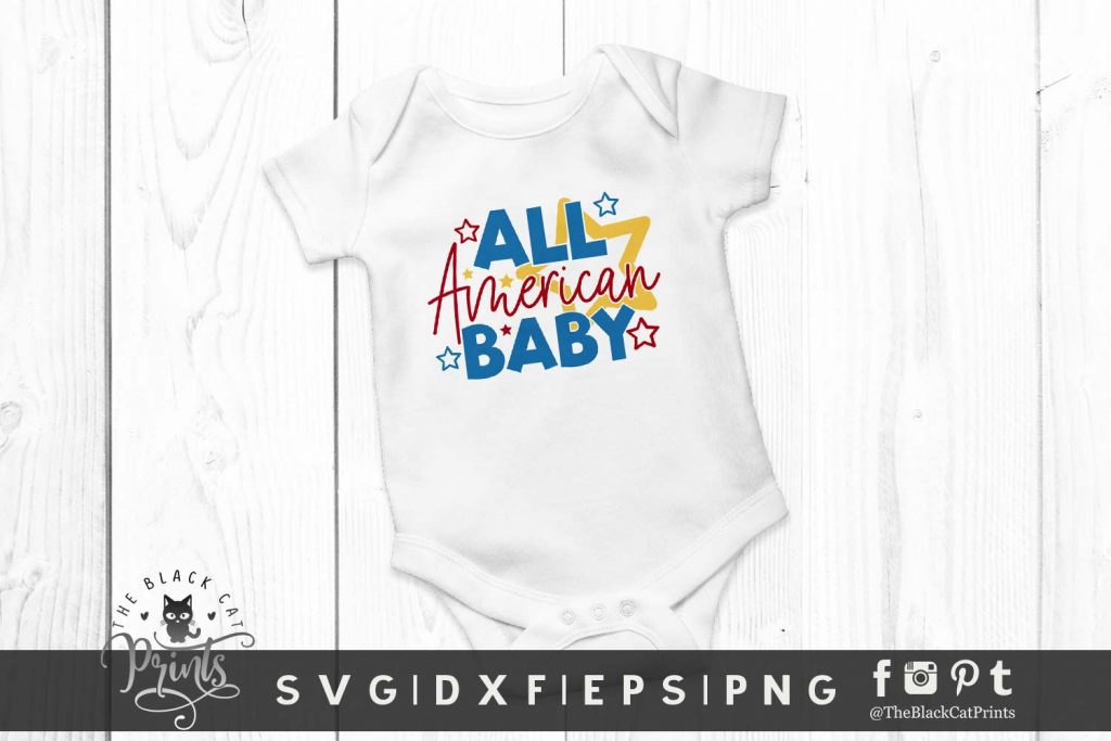 All American Baby SVG