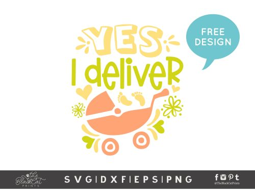 Yes, I Deliver SVG