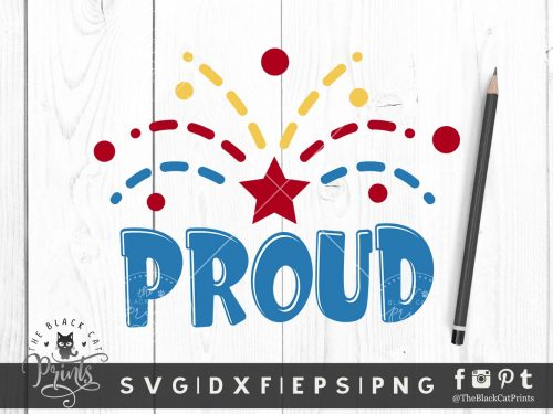 Proud SVG