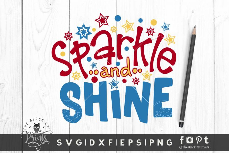 Sparkle and Shine SVG