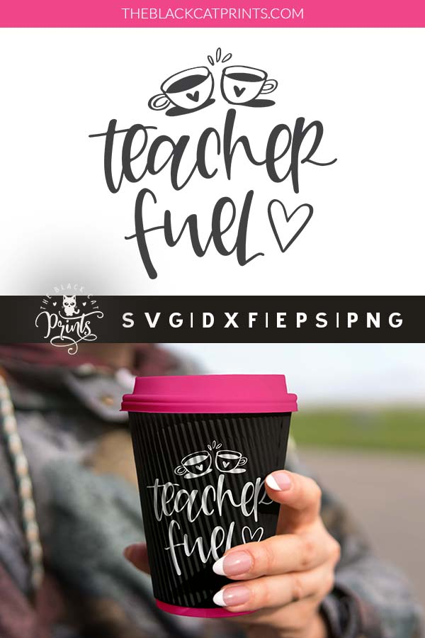 Teacher Fuel SVG
