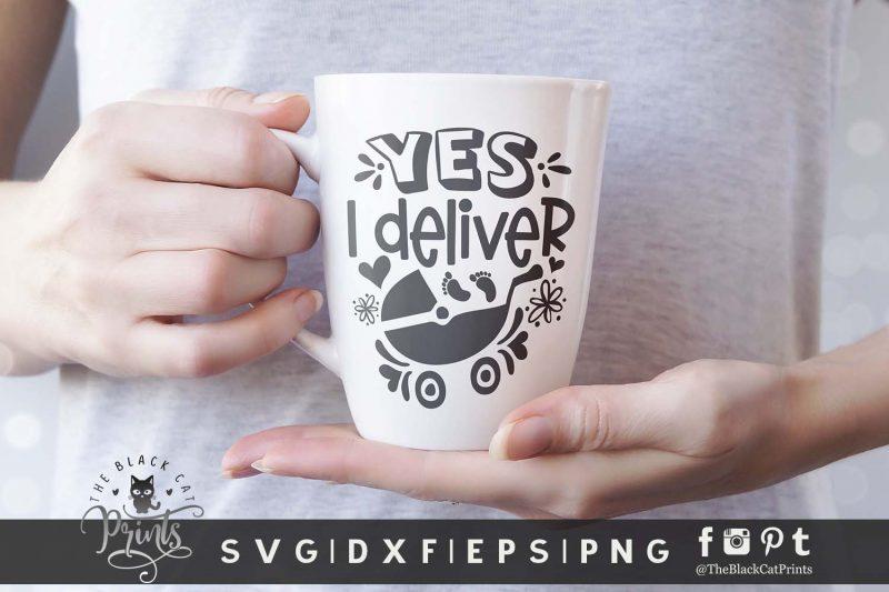 Yes, I Deliver SVG