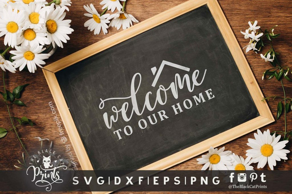 Welcome to our home SVG