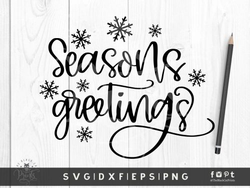 Seasons Greetings SVG