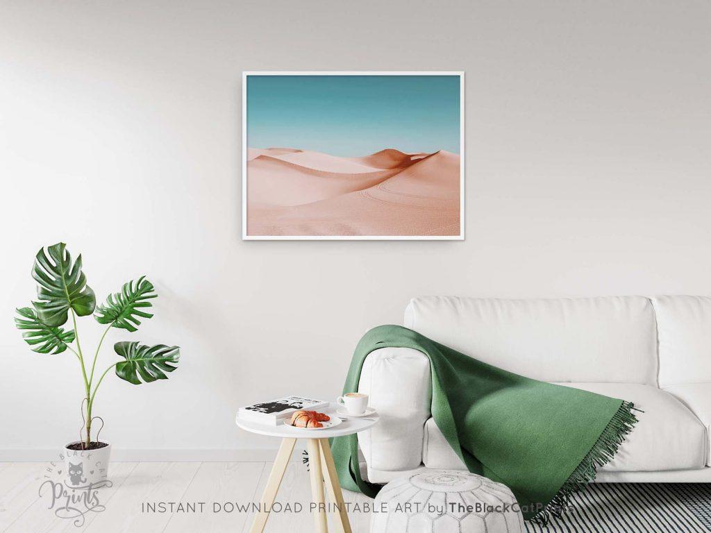 Desert Dunes Sahara Photography Print