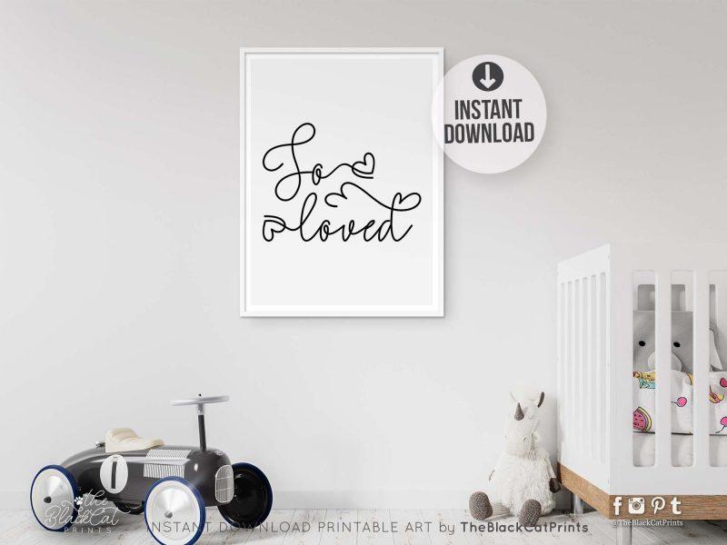 So Loved Printable Art