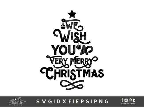 Christmas Tree Quote SVG