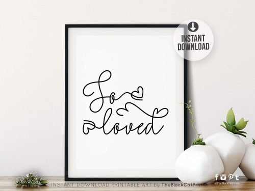 So Loved Printable Art
