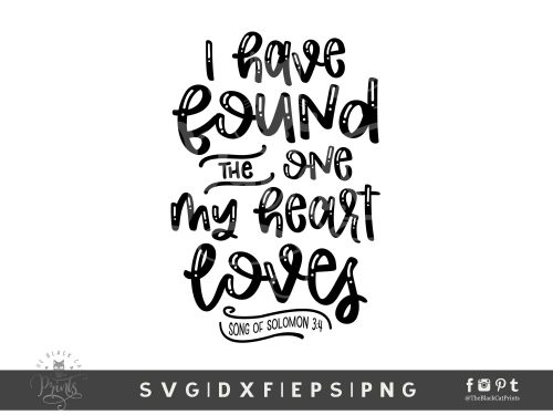 I Have Found The One SVG