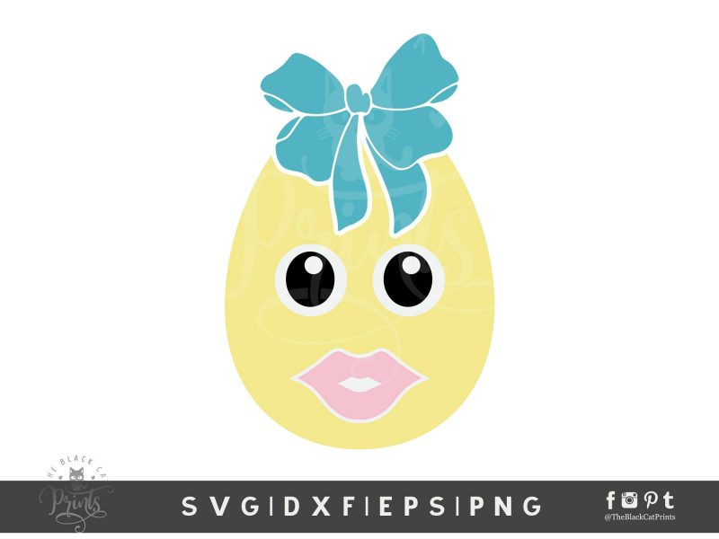 Easter Clipart Baby Egg SVG