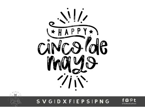 Happy Cinco De Mayo SVG
