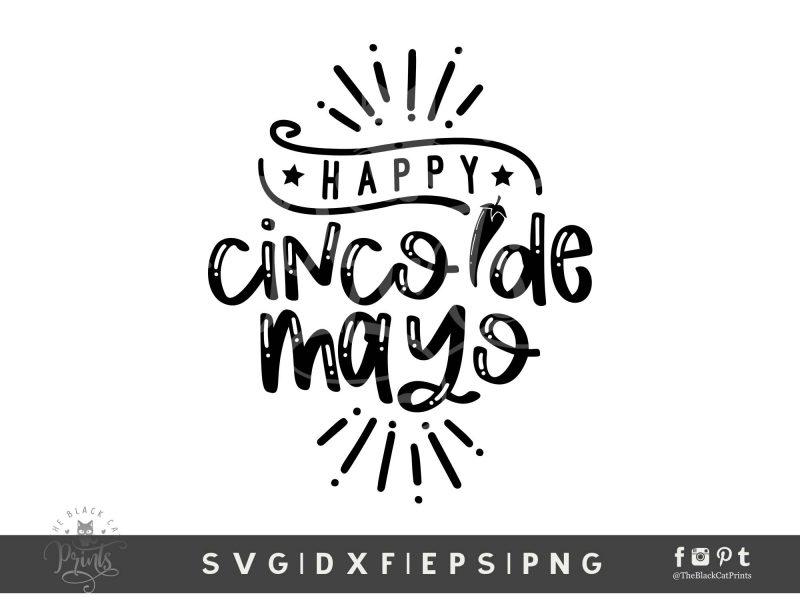 Happy Cinco De Mayo SVG