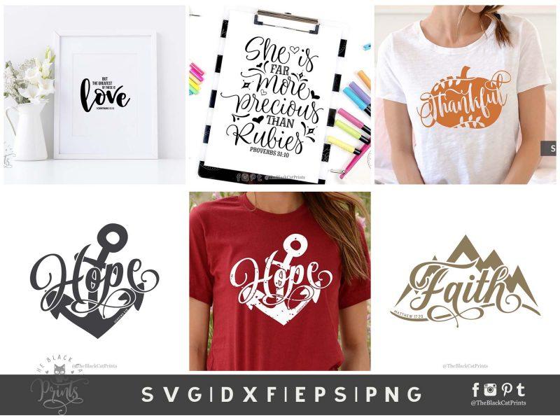 Christian bundle SVG