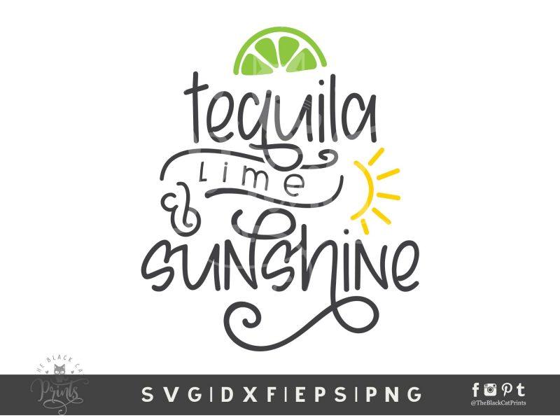 Tequila Lime & Sunshine SVG
