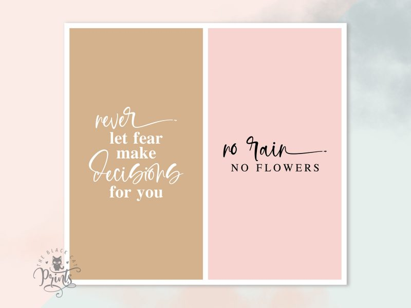 Instagram Post & Story Templates - Encouraging Quotes