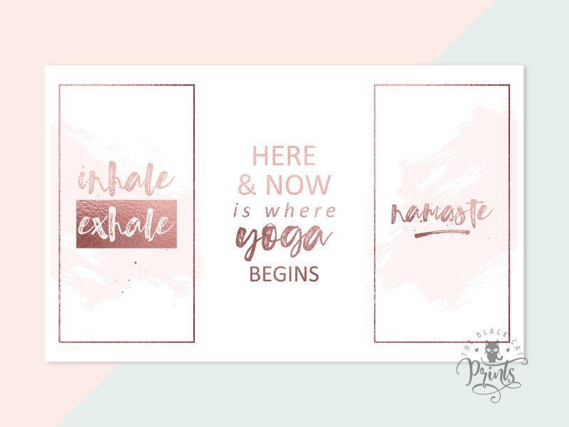 Instagram Post & Story Templates - Yoga Quotes