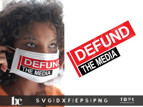 Defund The Media SVG