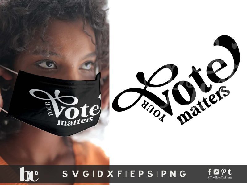 Your Vote Matters SVG