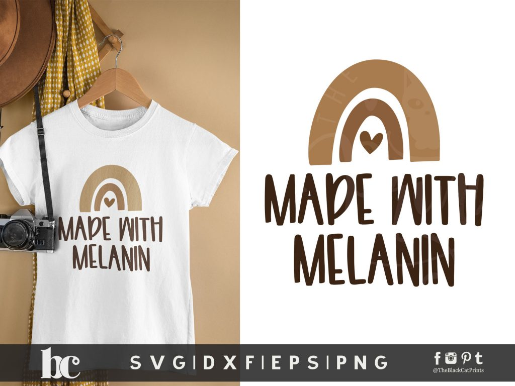 Made With Melanin SVG