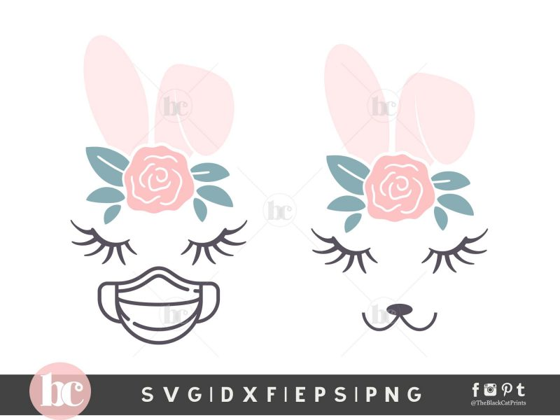 Easter Bunny Pandemic SVG