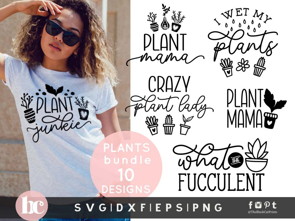 Plant Quotes Bundle SVG