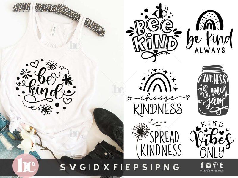 Kindness Quotes Bundle SVG