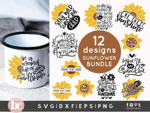 Sunflower Bundle SVG