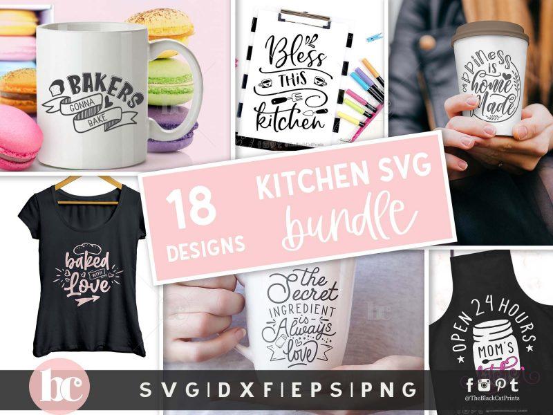 Kitchen Bundle SVG