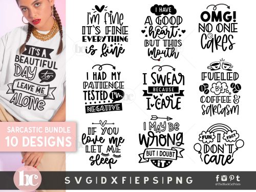 Sarcastic Bundle SVG