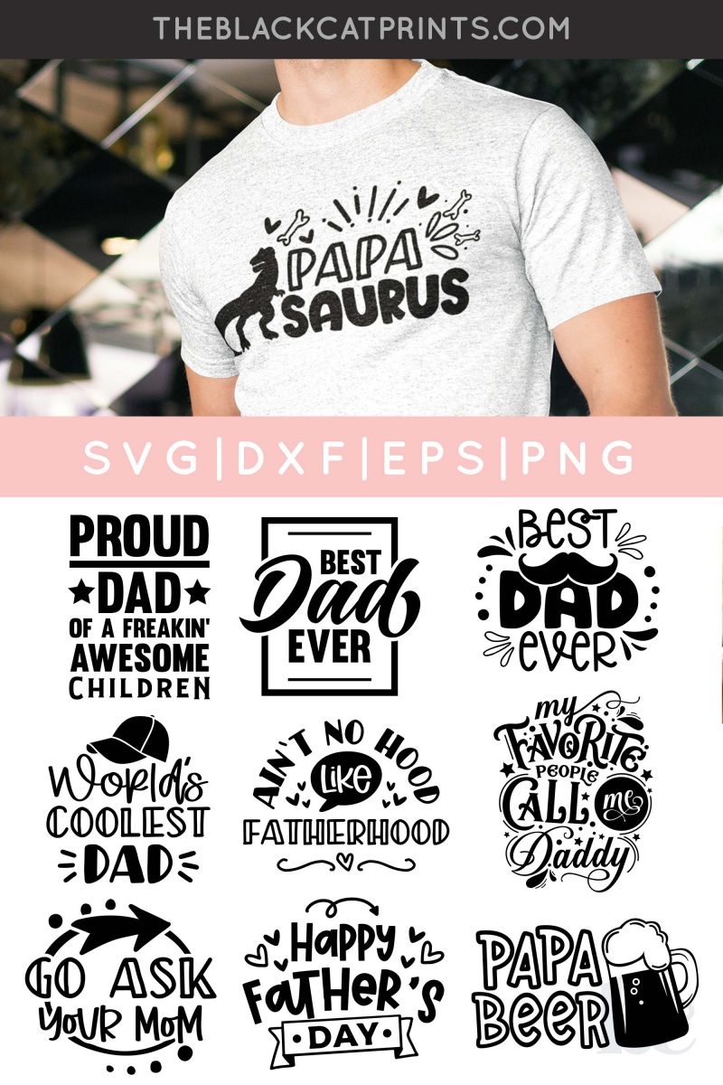 Father's Day Bundle SVG
