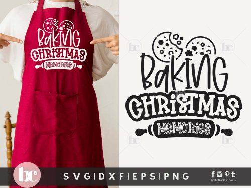 Baking Christmas Memories SVG