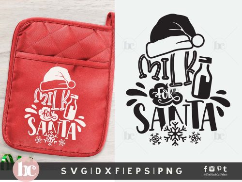 Milk for Santa | Christmas SVG