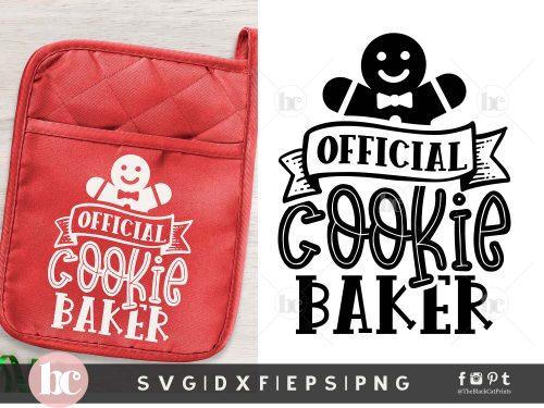 Official Cookie Baker SVG